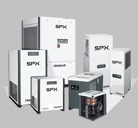 Хладилни изсушители SPX Dehydration & Process Filtration, Меакомп