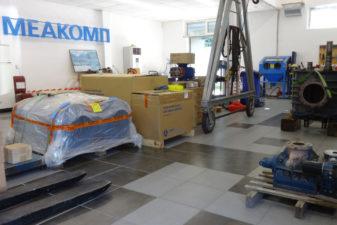 Сервиз Меакомп в Пловдив, напълно оборудвана сервизна база