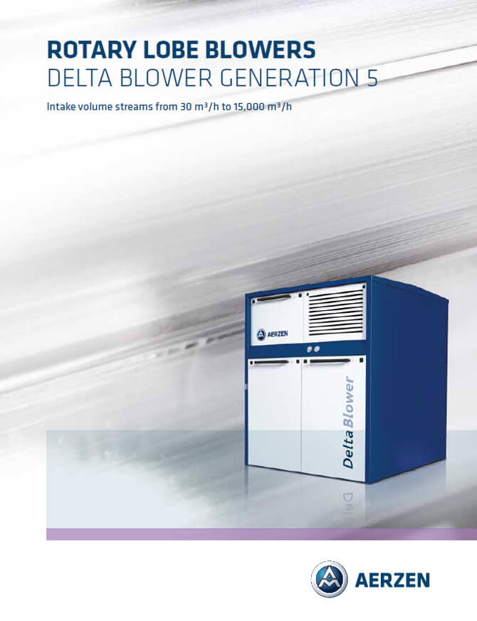 Aerzen Delta Blower Generation 5 - PDF catalogue