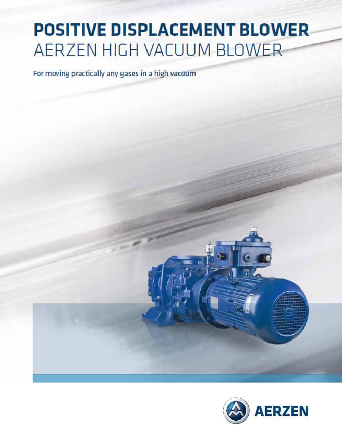 Въздуходувки Aerzen High Vaccum Blower HVseries PDF каталог