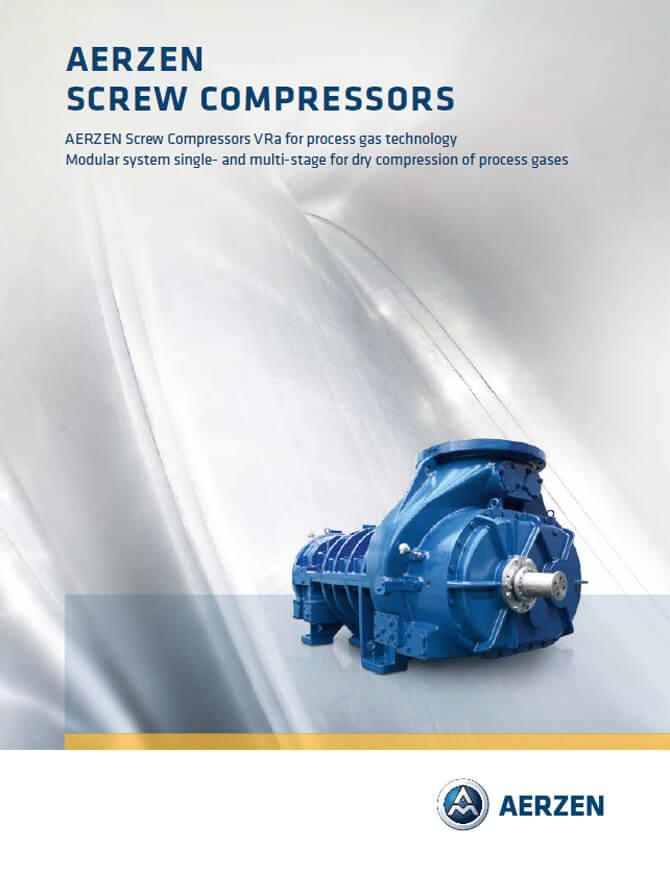 Винтови компресори Aerzen Oil-free Screw Compressors VRA units, PDF каталог