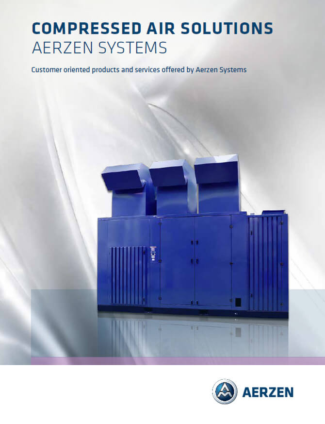 Винтови компресори Aerzen Oil-free Multi-stage Screw Compressors units, PDF каталог