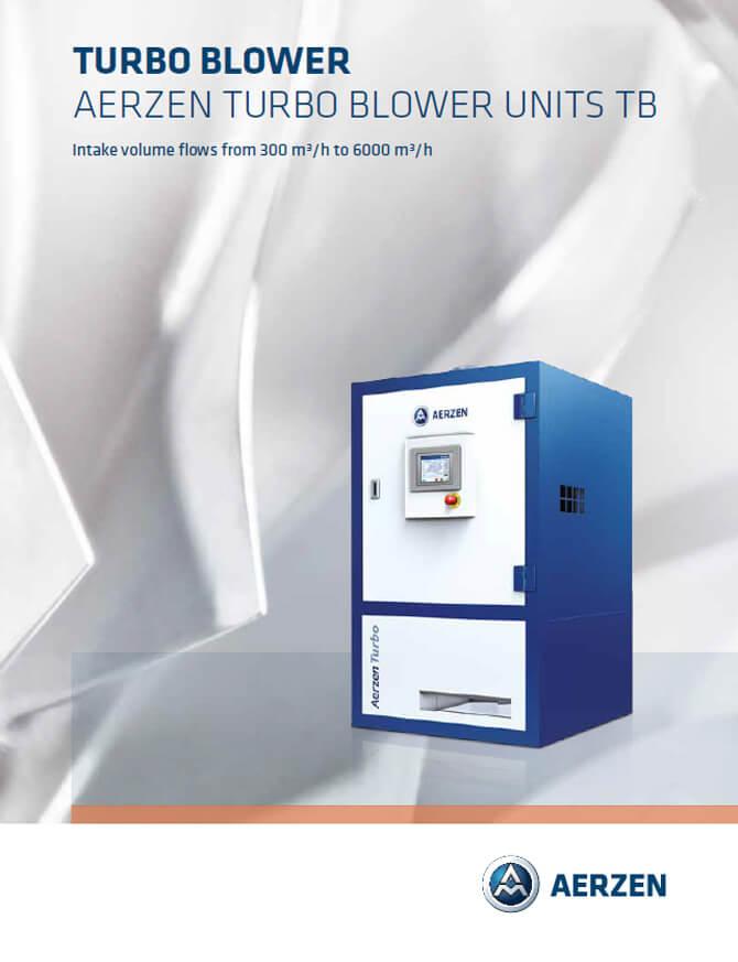 Aerzen Turbo Blowers Units TB - PDF catalogue