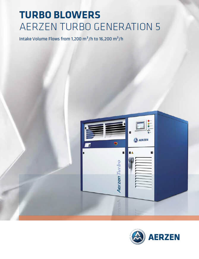 Aerzen Turbo Blowers Generation 5, PDF catalogue