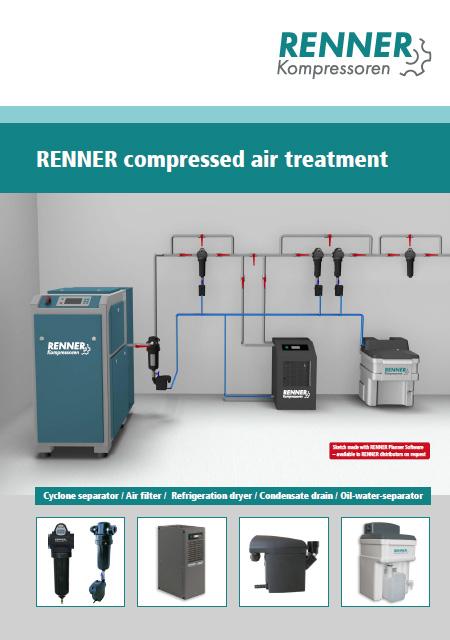 RENNER системи за обработка на сгъстен въздух - каталог