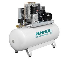 Renner бутални компресори REKO, 1.5kW-8kW