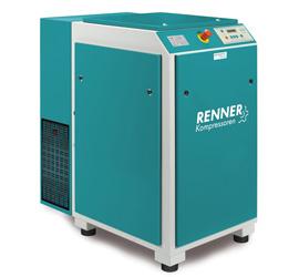 Renner винтови компресори с честотно регулиране