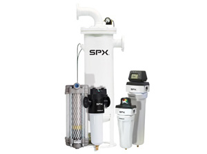 SPX Deltech филтри за обработка на сгъстен въздух